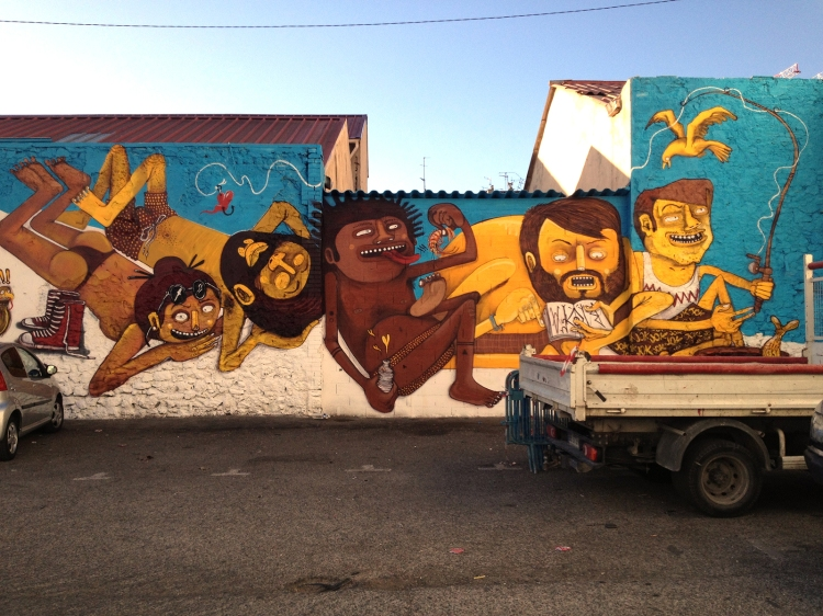Nhobi's  new mural.