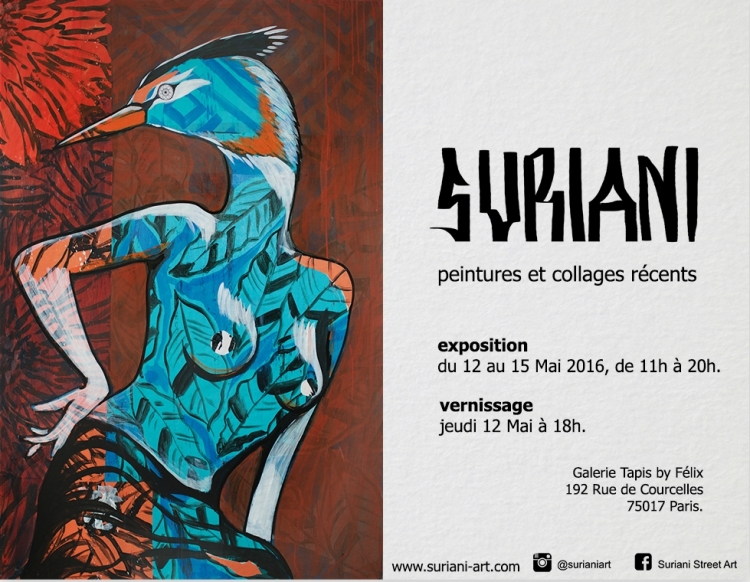 From May 12th to 15th I'll be showing some of my recent production on canvas. I'll be glad to see you all at the vernissage. More pictures will be published after the event.